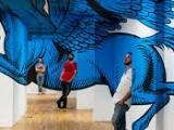 Optical illusion graffiti , l'arte dei Truly Design